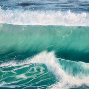 Winter Surf detail giclee fine art print