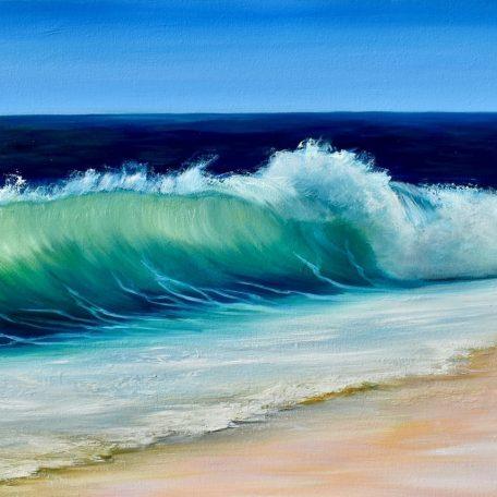 Emerald Beach giclee print in 3 sizes