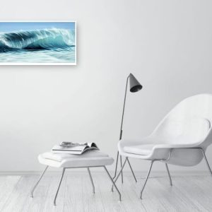 """SeaWave"" Large Print in a Room Setting"