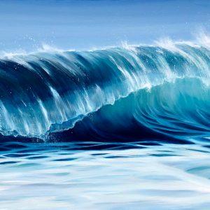 """Seawave"" giclee print"