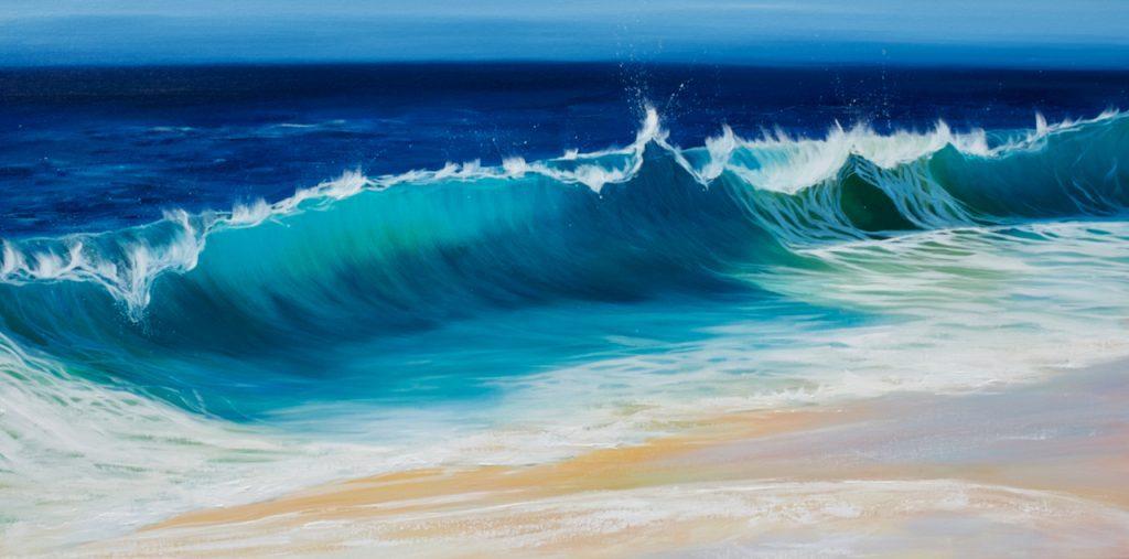 Ocean Beach Wave III giclee print