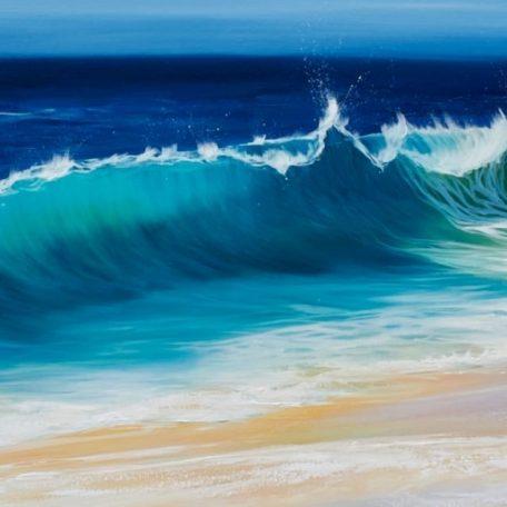 Ocean Beach Wave III giclee print in 3 sizes
