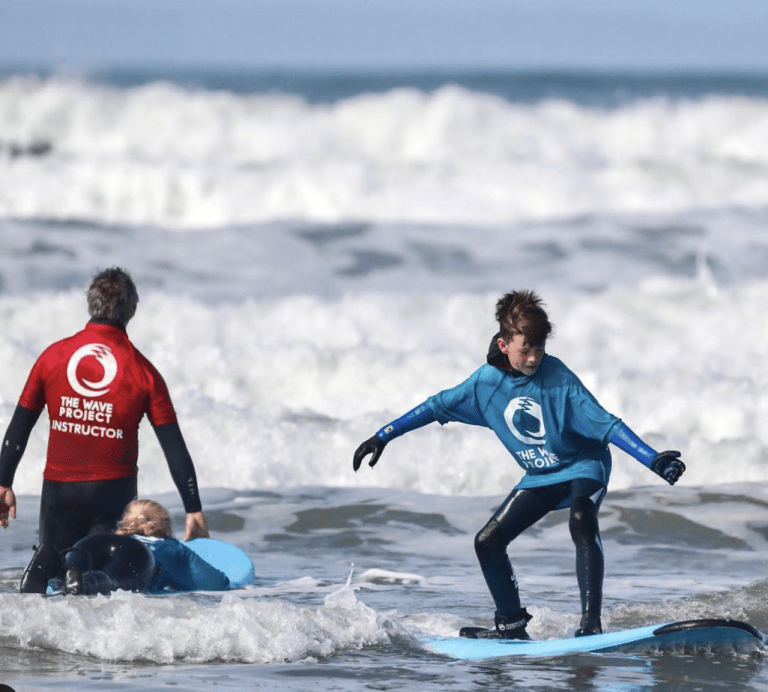 the Wave Project Charity supporting mental health through surfing